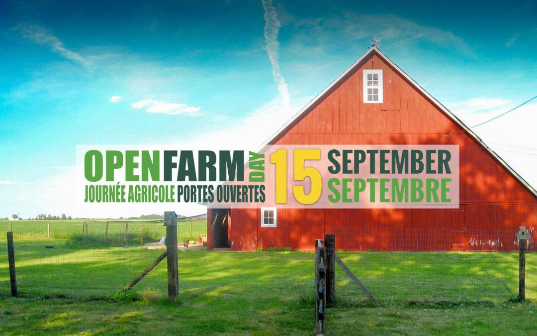 Open Farm Day 2019/ Journée agricole portes ouvertes 2019